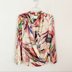 """HD in Paris for ANTHRO • """"Camille"""" Watercolor Top"""
